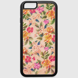 Vintage Glitched Pastel Flowers - Phone Case Phone & Tablet Cases - iPhone 6/6s Rubber Case