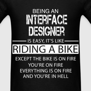 Interface Designer T-Shirts - Men's T-Shirt