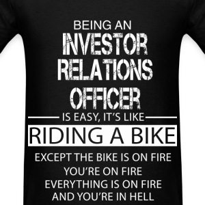 Investor Relations Officer T-Shirts - Men's T-Shirt