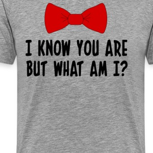 Pee Wee Herman - I Know You Are But What Am I? T-Shirts - Men's Premium T-Shirt