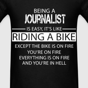 Journalist T-Shirts - Men's T-Shirt