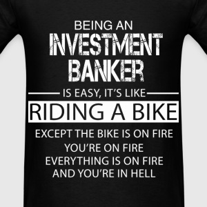 Investment Banker T-Shirts - Men's T-Shirt