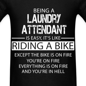 Laundry Attendant T-Shirts - Men's T-Shirt
