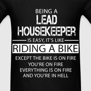 Lead Housekeeper T-Shirts - Men's T-Shirt