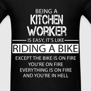 Kitchen Worker T-Shirts - Men's T-Shirt