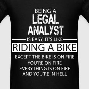 Legal Analyst T-Shirts - Men's T-Shirt