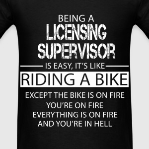 Licensing Supervisor T-Shirts - Men's T-Shirt