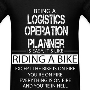 Logistics Operation Planner T-Shirts - Men's T-Shirt