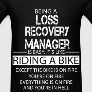 Loss Recovery Manager T-Shirts - Men's T-Shirt