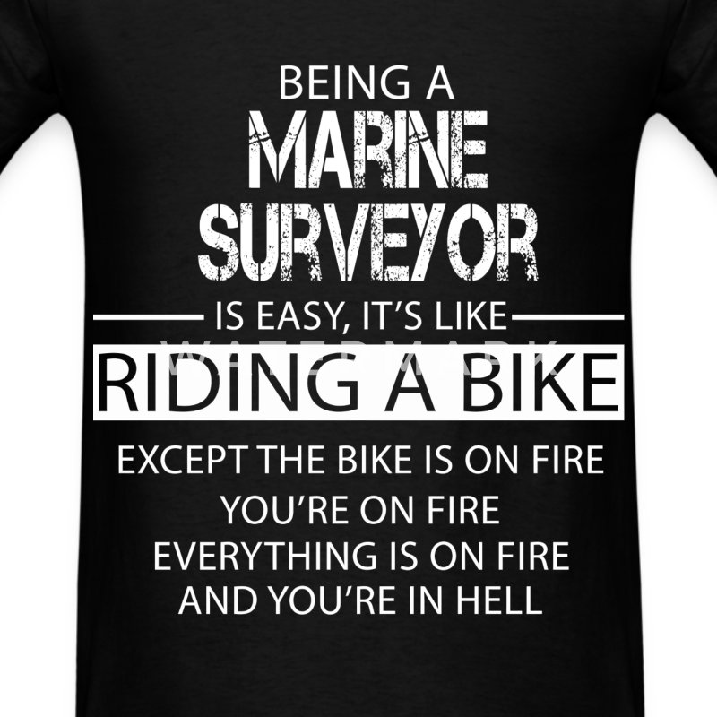 Marine Surveyor T-Shirts - Men's T-Shirt