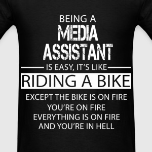 Media Assistant T-Shirts - Men's T-Shirt