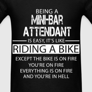 Mini-Bar Attendant T-Shirts - Men's T-Shirt