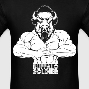 Buffalo Soldier Gym shirt - Men's T-Shirt