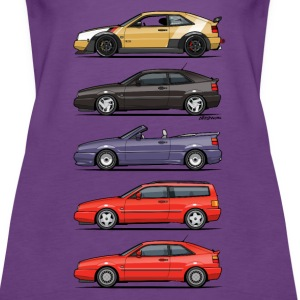 Stack of Corrados Tanks - Women's Premium Tank Top