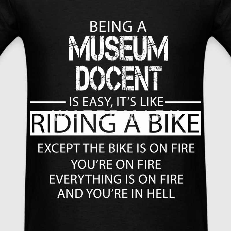 Museum Docent T-Shirts - Men's T-Shirt