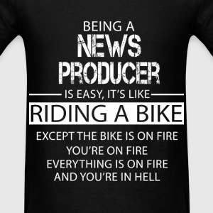 News Producer T-Shirts - Men's T-Shirt