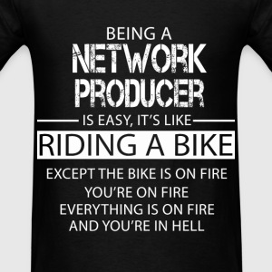 Network Producer T-Shirts - Men's T-Shirt