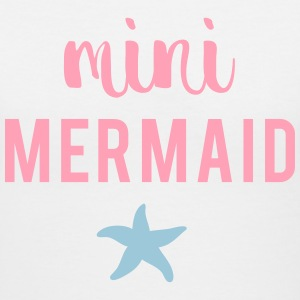 Mini Mermaid T-Shirts - Women's V-Neck T-Shirt