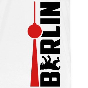 Berlin Bear Tv Tower T-Shirts - Men's Premium T-Shirt
