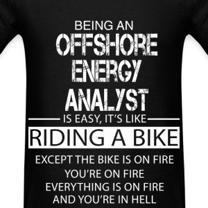Offshore Energy Analyst T-Shirts - Men's T-Shirt