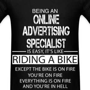 online advertising specialist t shirts mens t shirt - Online Advertising Specialist