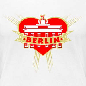 Brandenburg Gate Girl Berlin T-Shirts - Women's Premium T-Shirt