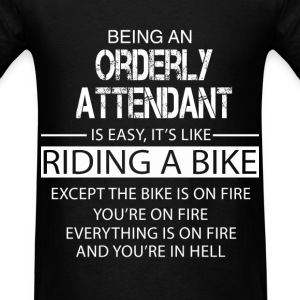 Orderly Attendant T-Shirts - Men's T-Shirt