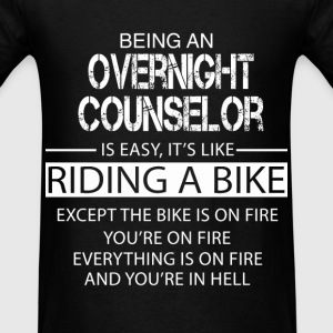 Overnight Counselor T-Shirts - Men's T-Shirt