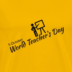 World Teachers Day  - Men's Premium T-Shirt