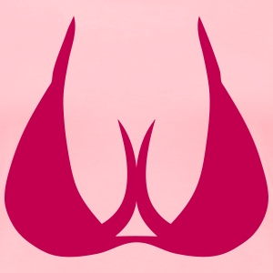 303 breast boob cleavage T-Shirts - Women's Premium T-Shirt