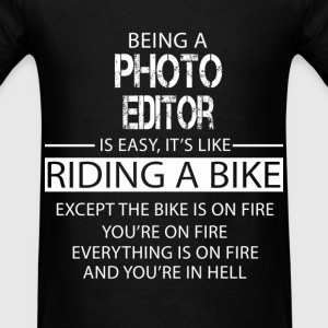 Photo Editor T-Shirts - Men's T-Shirt