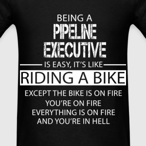 Pipeline Executive T-Shirts - Men's T-Shirt