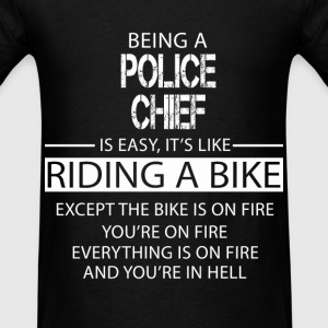 Police Chief T-Shirts - Men's T-Shirt