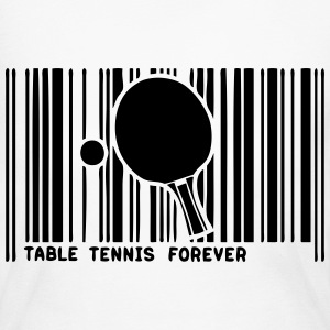 barcode table tennis racket table  Long Sleeve Shirts - Women's Long Sleeve Jersey T-Shirt