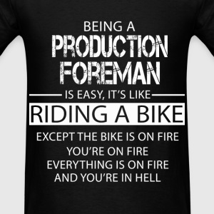 Production Foreman T-Shirts - Men's T-Shirt
