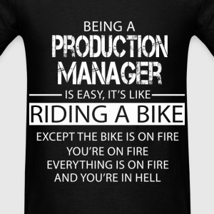 Production Manager T-Shirts - Men's T-Shirt