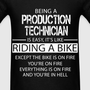 Production Technician T-Shirts - Men's T-Shirt