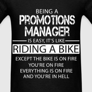 Promotions Manager T-Shirts - Men's T-Shirt