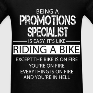 Promotions Specialist T-Shirts - Men's T-Shirt