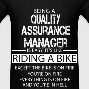 Quality Assurance Manager T-Shirts - Men's T-Shirt