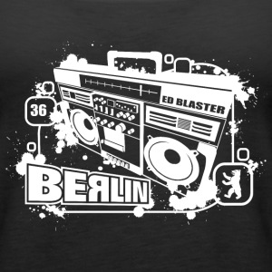Berlin Ghettoblaster Tanks - Women's Premium Tank Top