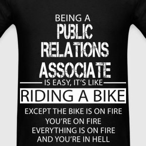 Public Relations Associate T-Shirts - Men's T-Shirt