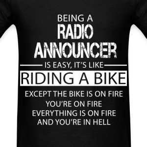 Radio Announcer T-Shirts - Men's T-Shirt