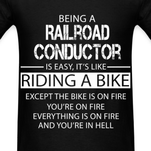 Railroad Conductor T-Shirts - Men's T-Shirt