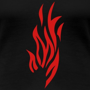 fire flame 302 T-Shirts - Women's Premium T-Shirt