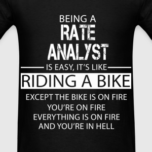 Rate Analyst T-Shirts - Men's T-Shirt