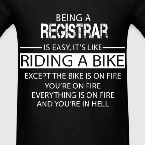 Registrar T-Shirts - Men's T-Shirt