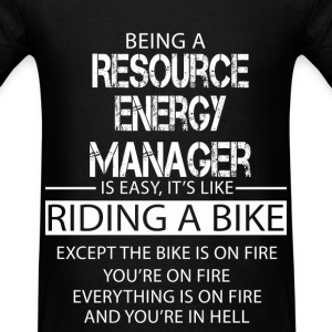 Resource Energy Manager T-Shirts - Men's T-Shirt