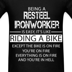 Resteel Ironworker T-Shirts - Men's T-Shirt