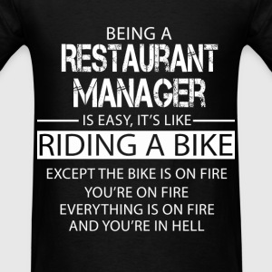 Restaurant Manager T-Shirts - Men's T-Shirt